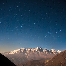 Stars above the Himalayas by Anton Jankovoy on 500px.com