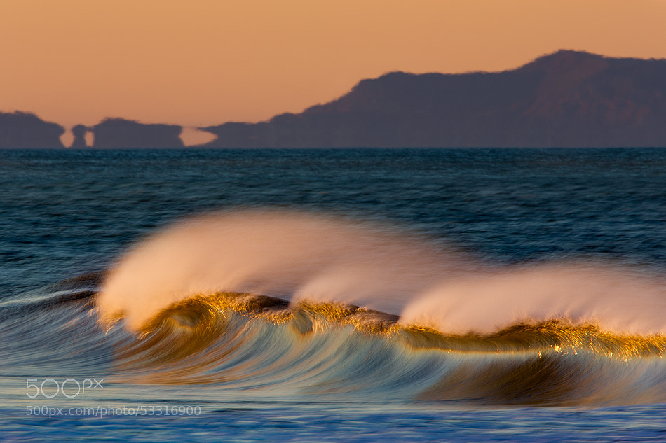 Photograph 73A5281 Wave and Island by David Orias on 500px