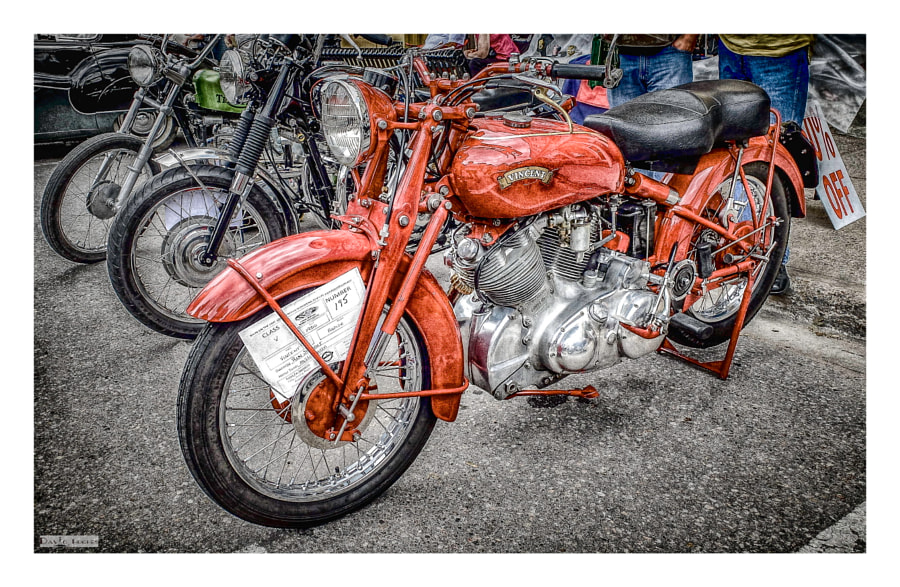 1950 Vincent Rapide HD