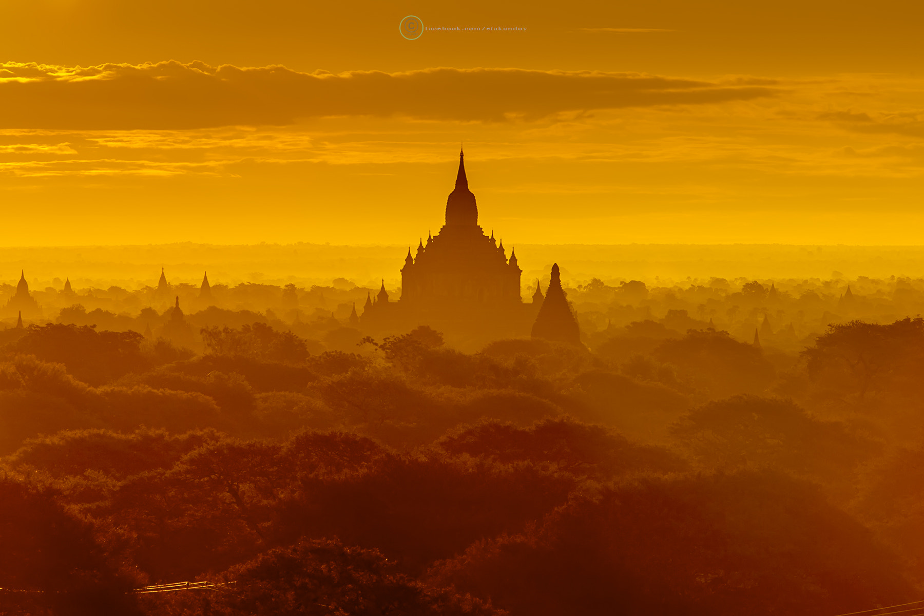 Photograph Bagan Sunrise by Tawan Chaisom on 500px