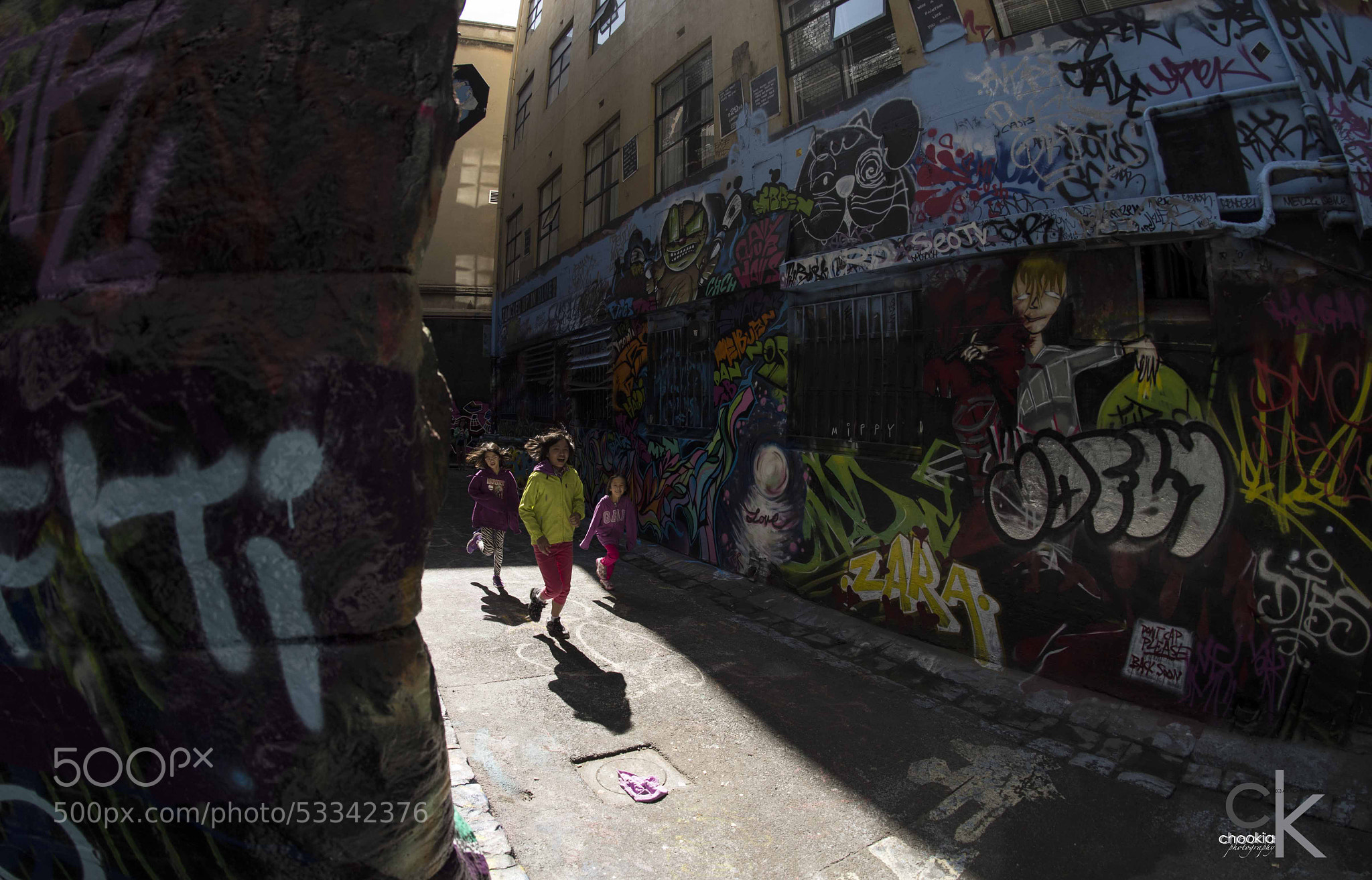 Photograph Hosier lane @ Australia by CK NG on 500px