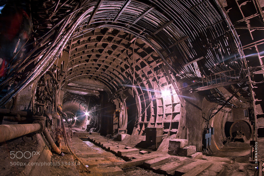 Photograph Abandoned tunnels in Kiev by Sam Namos on 500px