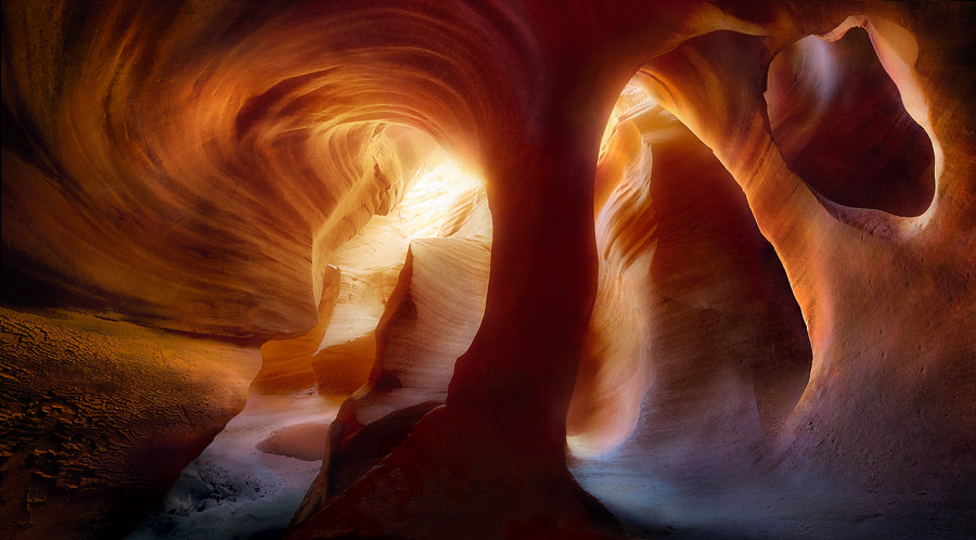 Photograph Walls of Light by Marc  Adamus on 500px