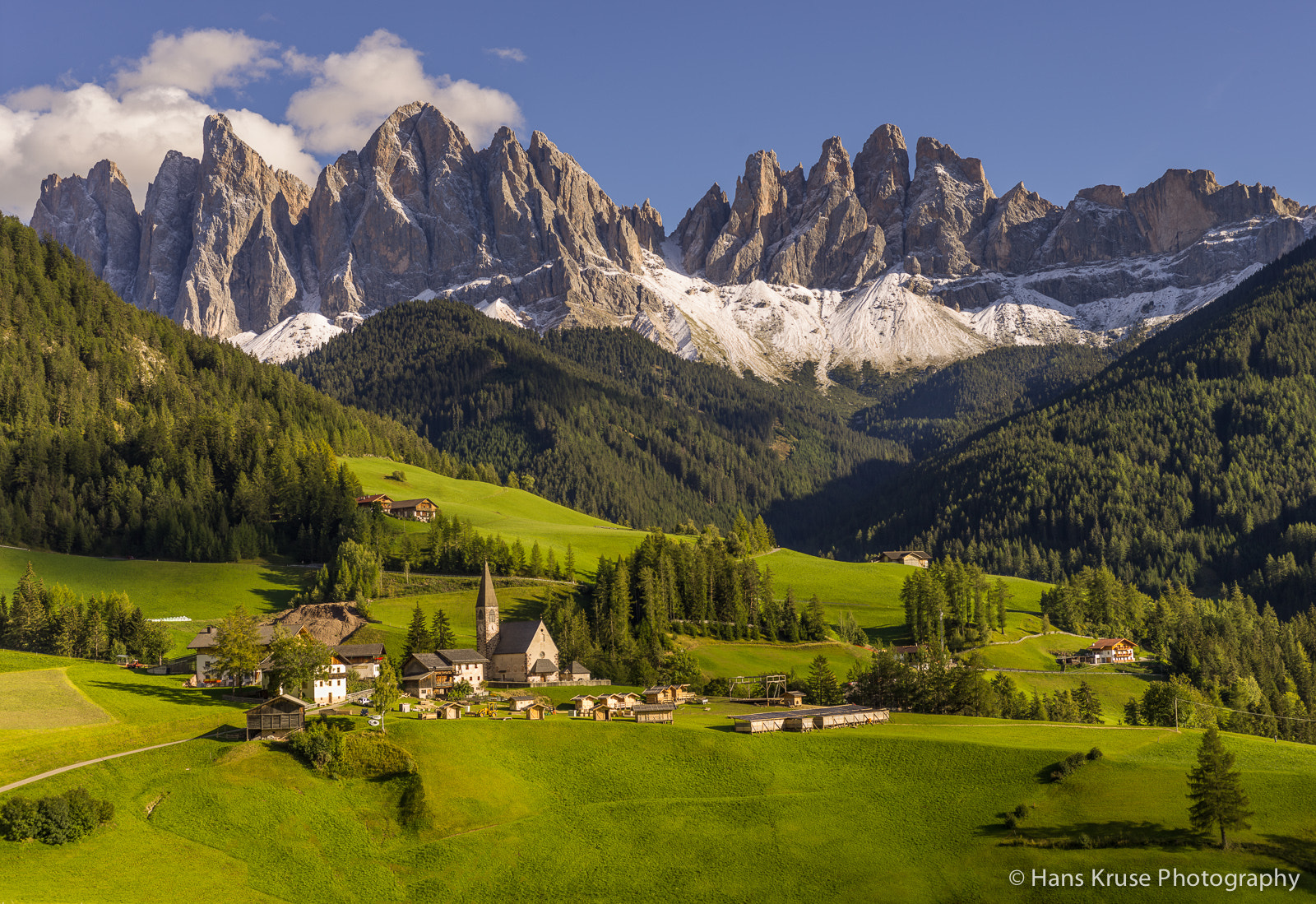Photograph Santa Maddalena in afternoon September light by Hans Kruse on 500px