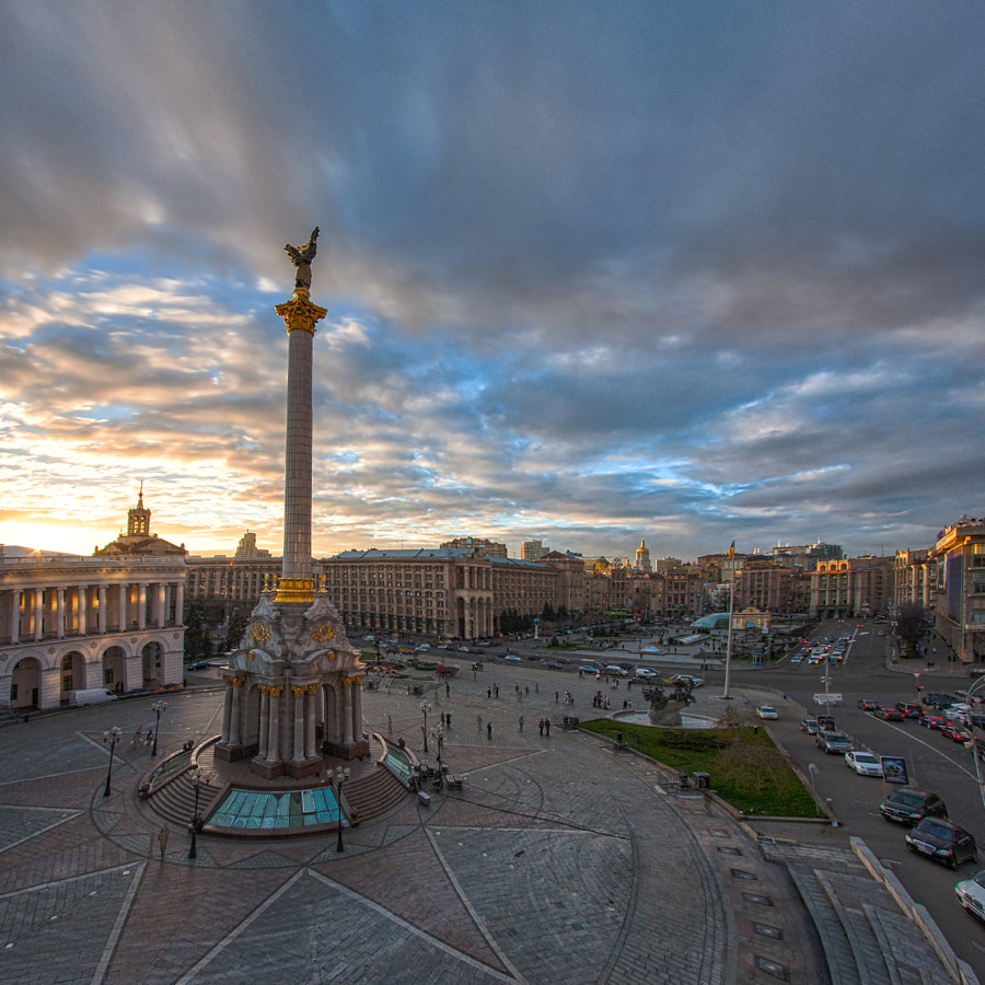 Kiev, Monument Independence of Ukraine by Dmitry Vinichenko on 500px.com