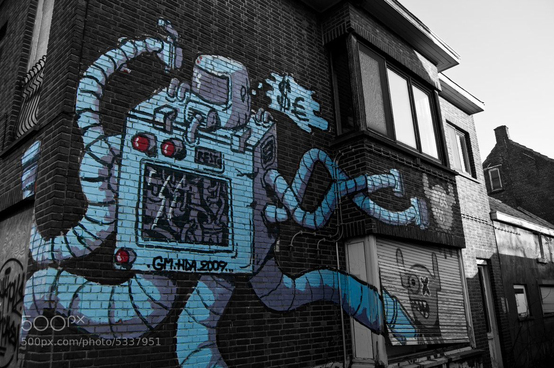 Photograph Doel graffiti 3 by Koert Tomasini on 500px