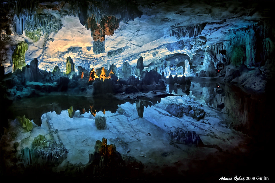 Photograph Red Flute Cave by Ahmet Özbaş on 500px