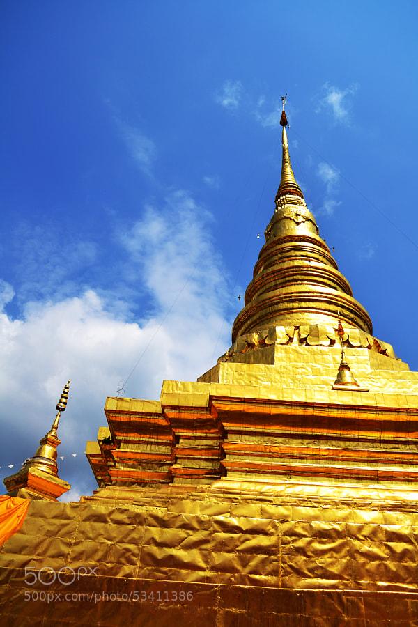 Photograph Wat Phra That Chae Haeng by Aui-Uzumaki Meesri on 500px