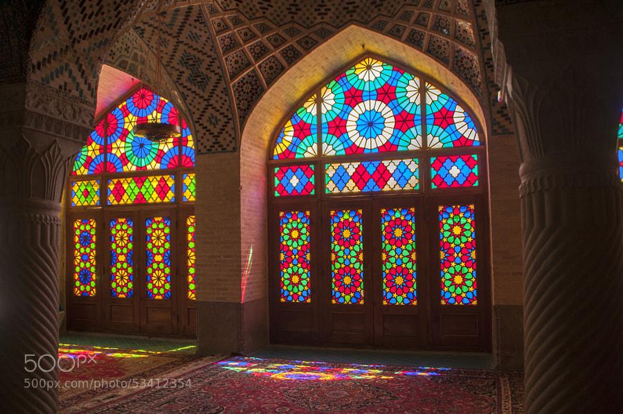 Photograph Nasir al Mulk Mosque#Mezquita Nasir al Mulk 2 by sebekkare on 500px