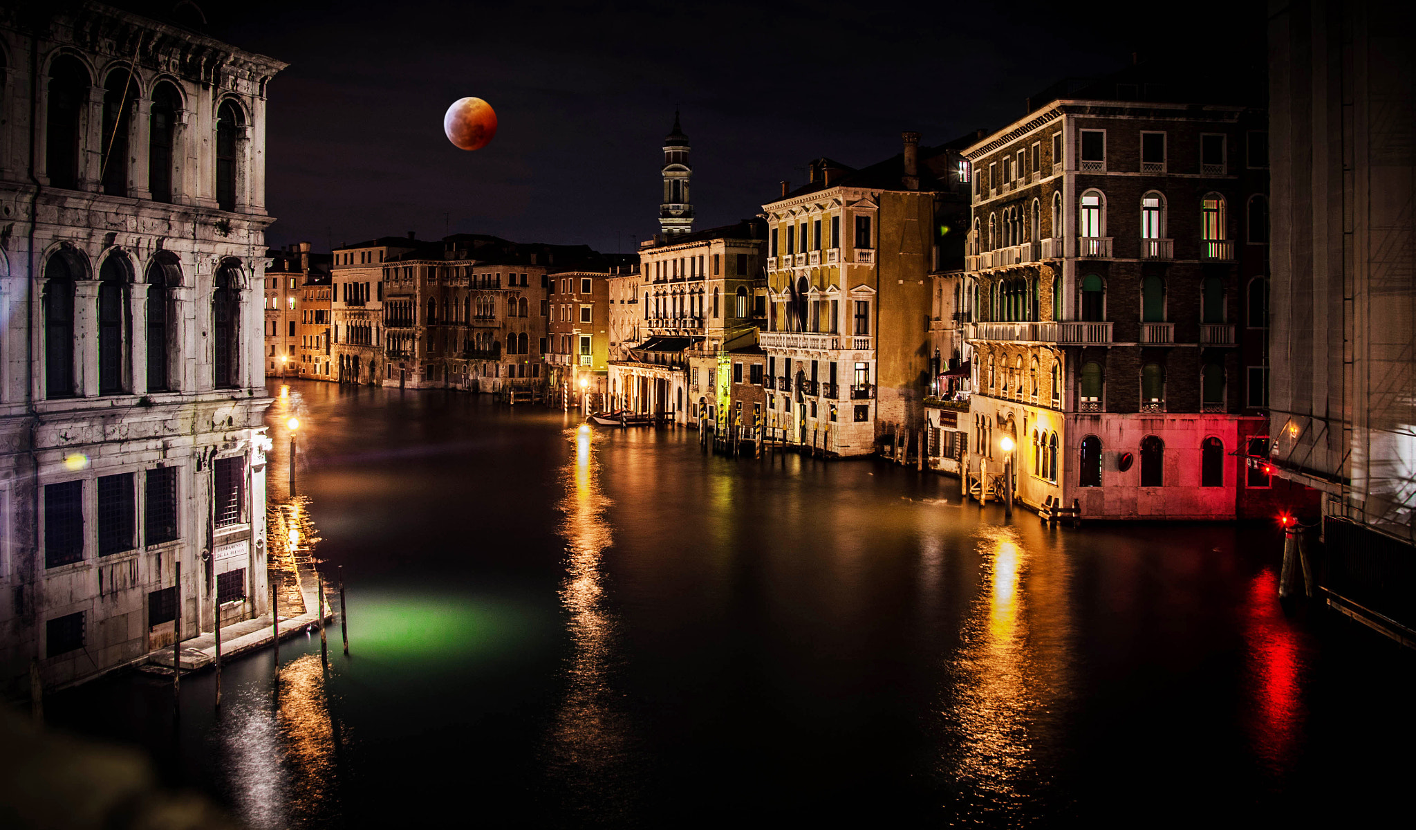 Photograph Moon Time on Venice by Efemir Art   on 500px