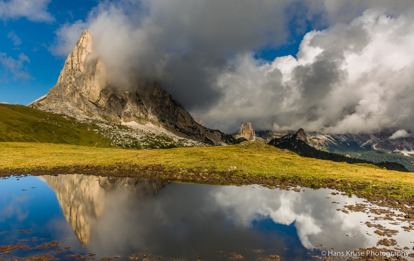 Photograph Reflection at Passo Giau by Hans Kruse on 500px