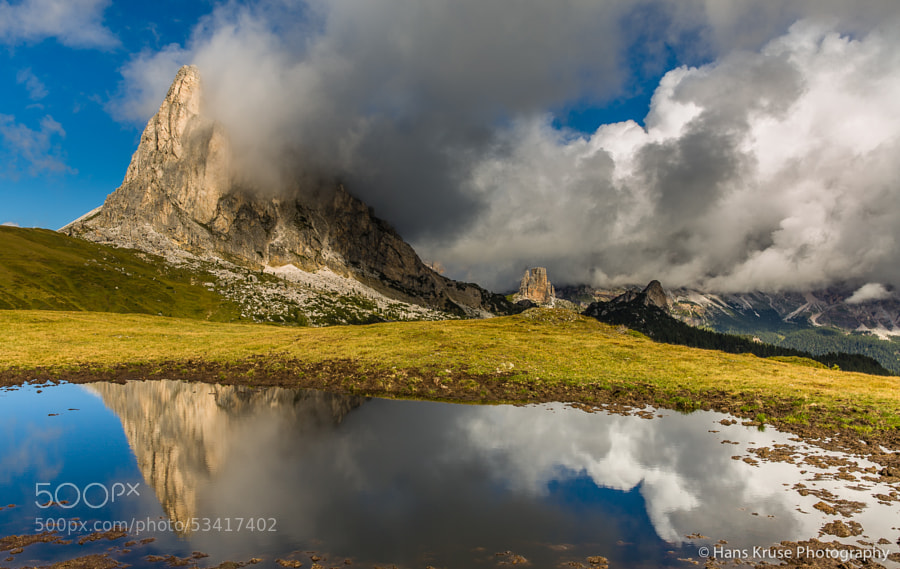 This photo was shot during the Dolomites East September 2013 photo workshop.  There are two workshops in 2014 in the Dolomites East with space available.
