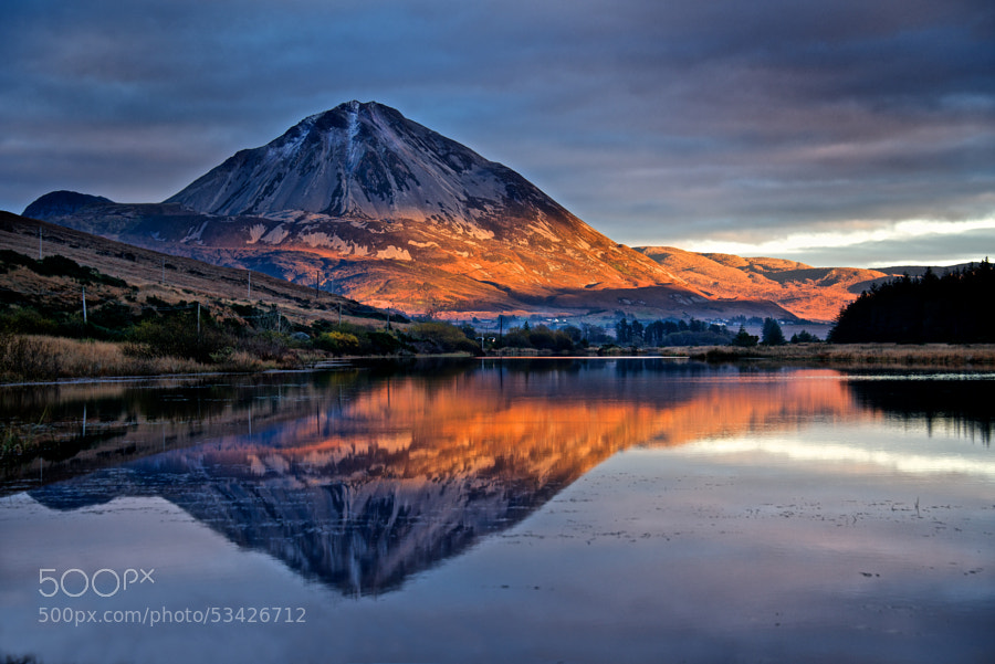 Photograph Autumn hues on Errigal by Trevor Cole on 500px