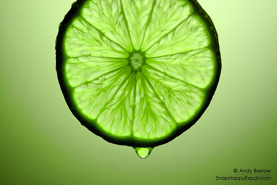 Photograph A Slice of Lime by Andy Barrow (SnapHappyExpat) on 500px