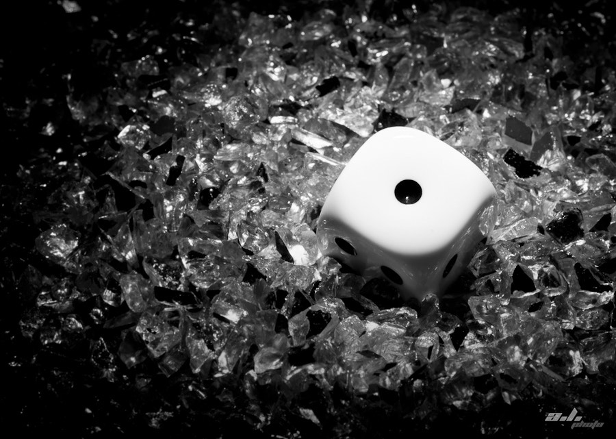 Photograph Dice on ice by ann  ly on 500px
