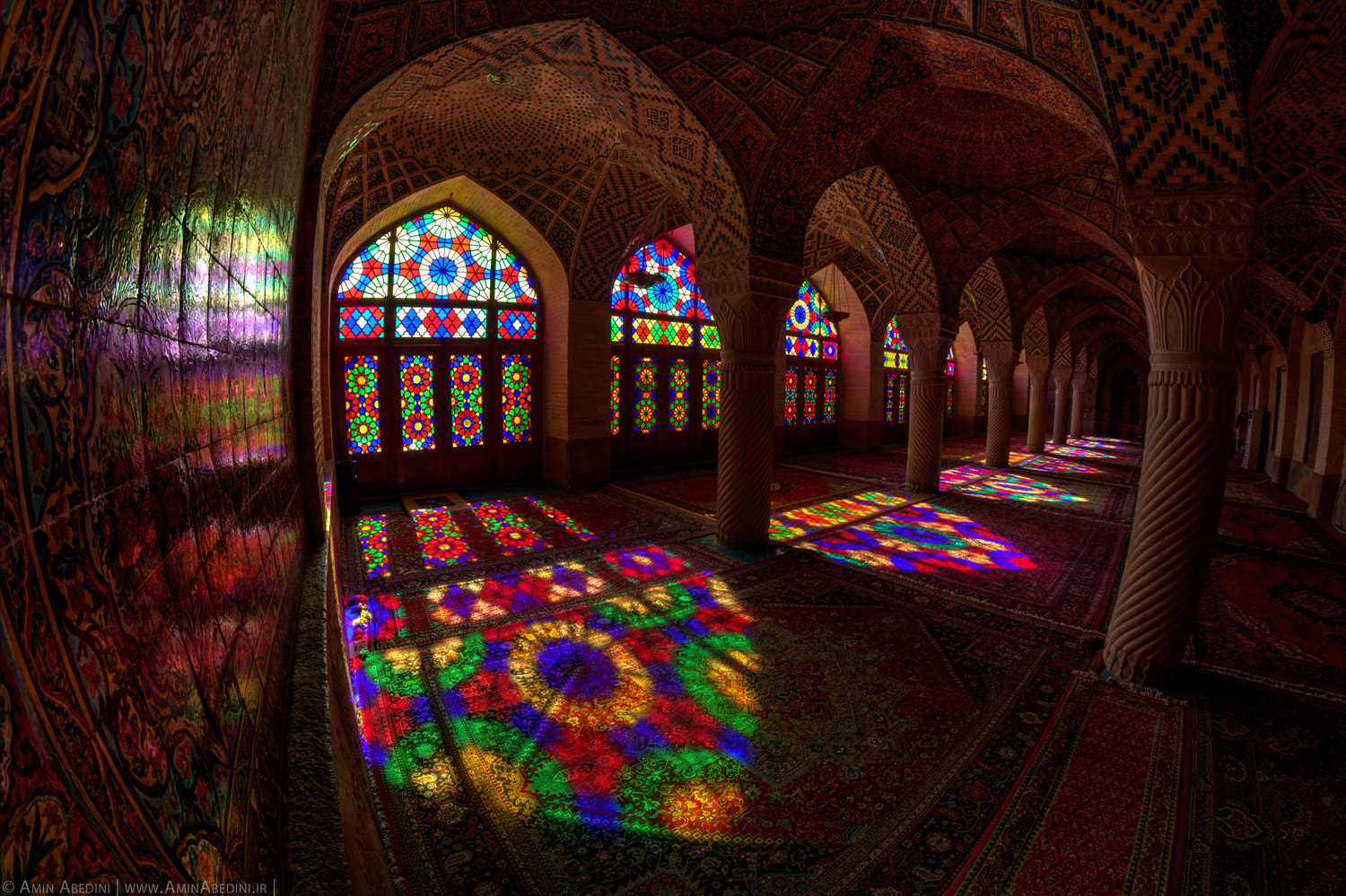 Photograph Mosque Of Colors by Amin Abedini on 500px