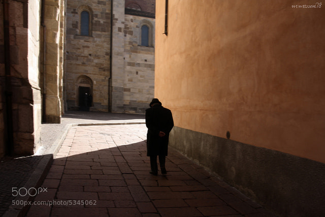 Photograph old man walking by massimo mazzoni on 500px
