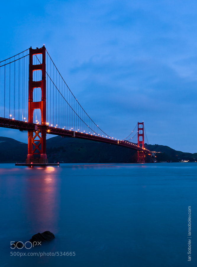 Photograph Frisco In Blue Tones by Evgeny Tchebotarev on 500px