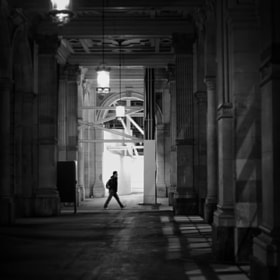 lamps and a man by Emanuel Ganz (emanuelganz)) on 500px.com