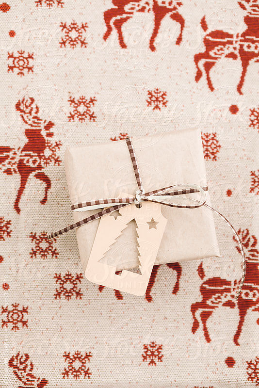 Photograph Christmas gift with gift tag by Elisabeth Coelfen on 500px