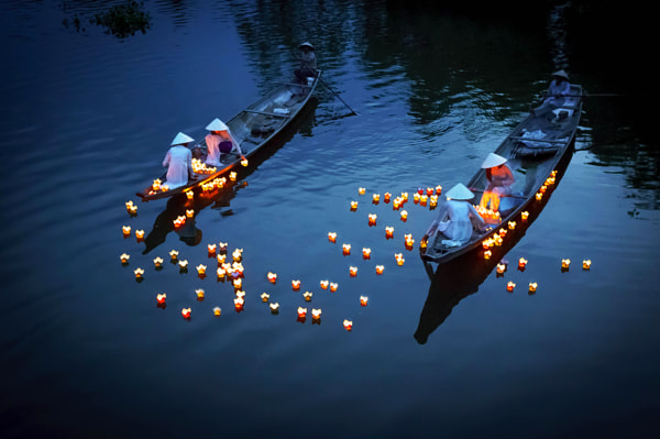 Photograph Praying on the river by Pham Ty on 500px
