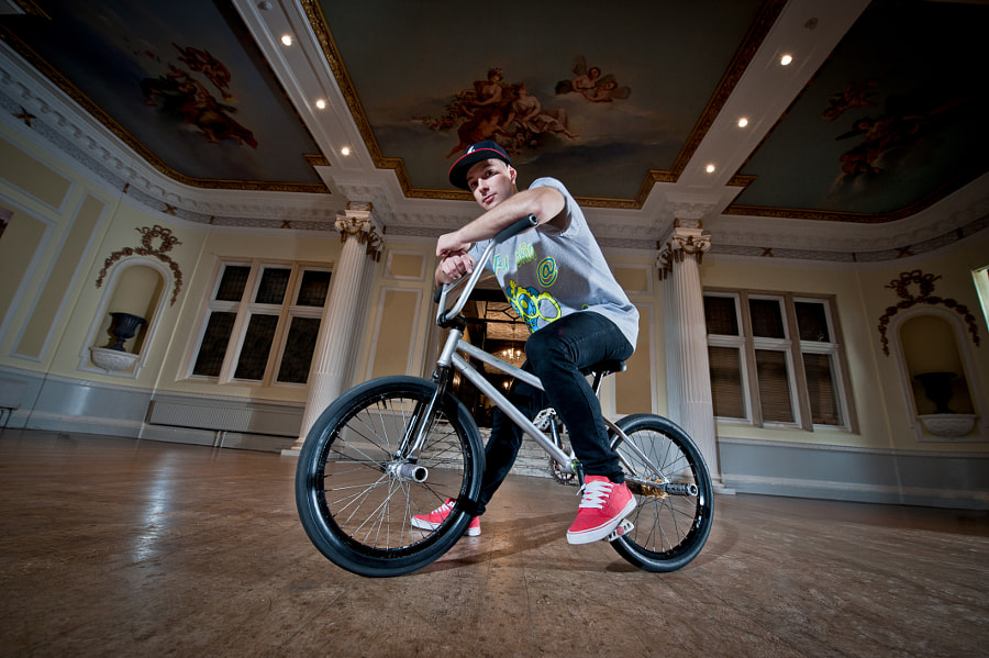 Keelan Phillips - 3 times British flatland BMX Champion http://www.stylebicycle.com/