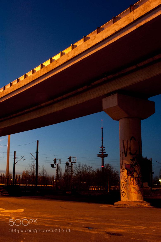 Photograph Under the bridge by K C on 500px