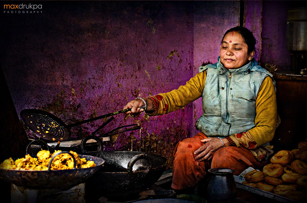 Photograph Cooking on the street. Kathmandu. Nepal by Max Drukpa on 500px