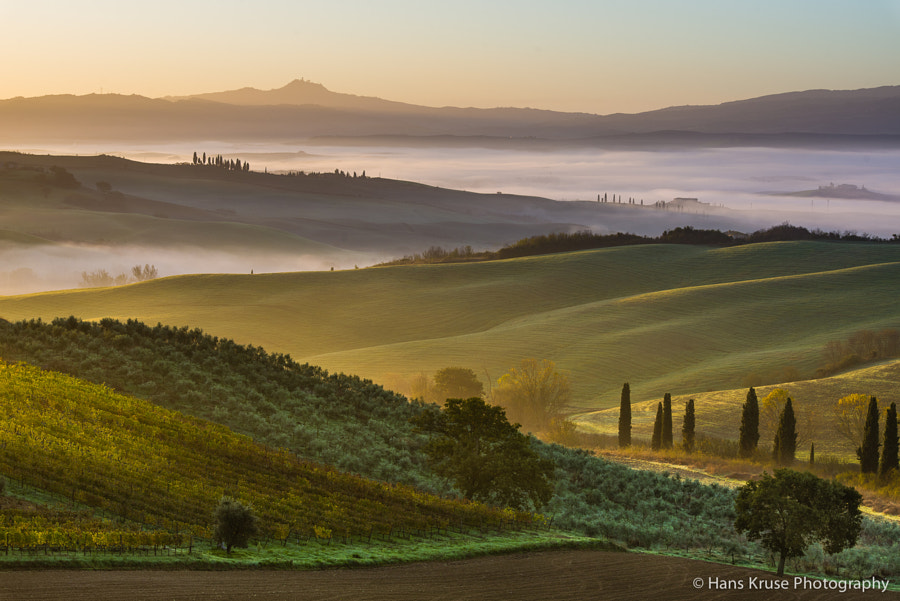 This photo was shot in November 2013 the days before the workshop group arrived for the Tuscany November photo workshop.  There will be another photo workshop in November 2014 http://www.hanskrusephotography.com/Hans-Kruse-Photo-Workshops/Tuscany-November-2014/