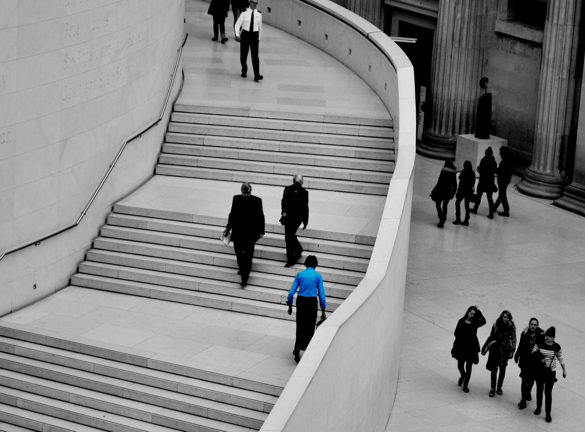 Photograph Woman in blue. by Zoe Cowl on 500px