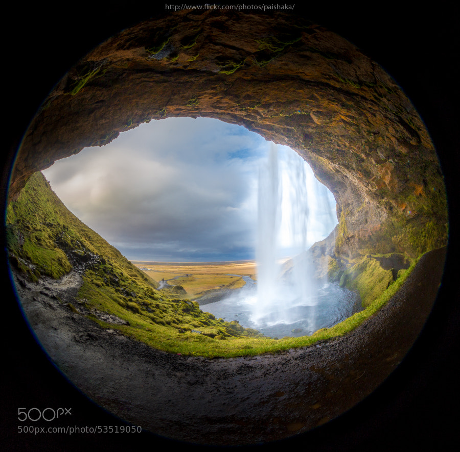 Photograph Eye of Seljalandsfoss by Pai Shaka on 500px