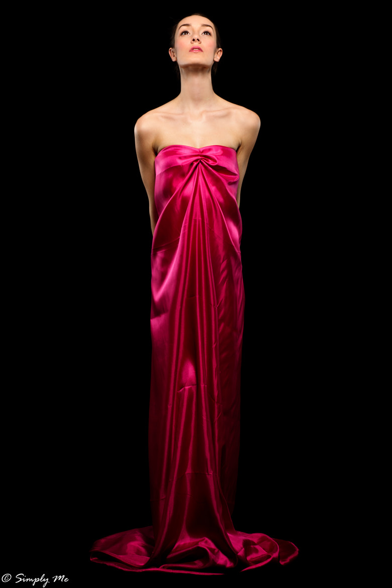 Photograph Lady in Pink by Matan Eshel on 500px