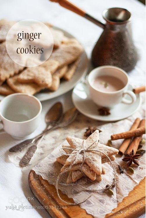 Photograph ginger cookies by Yulia Pletinka on 500px