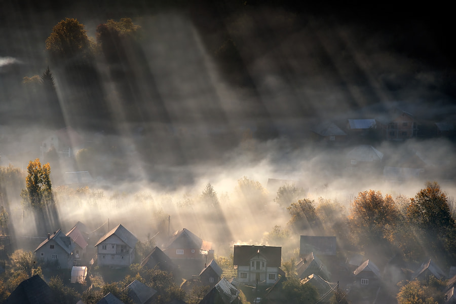 Photograph Home is where the light is by Claudiu Guraliuc on 500px