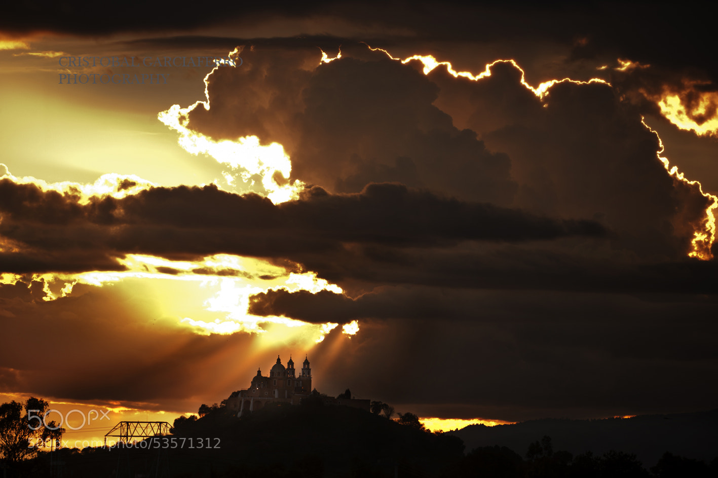 Photograph Clouds, Church, and Sunshine by Cristobal Garciaferro Rubio on 500px
