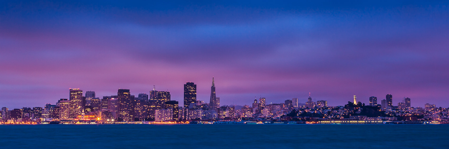 Photograph Twilight over San Francisco by Mike Wiacek on 500px