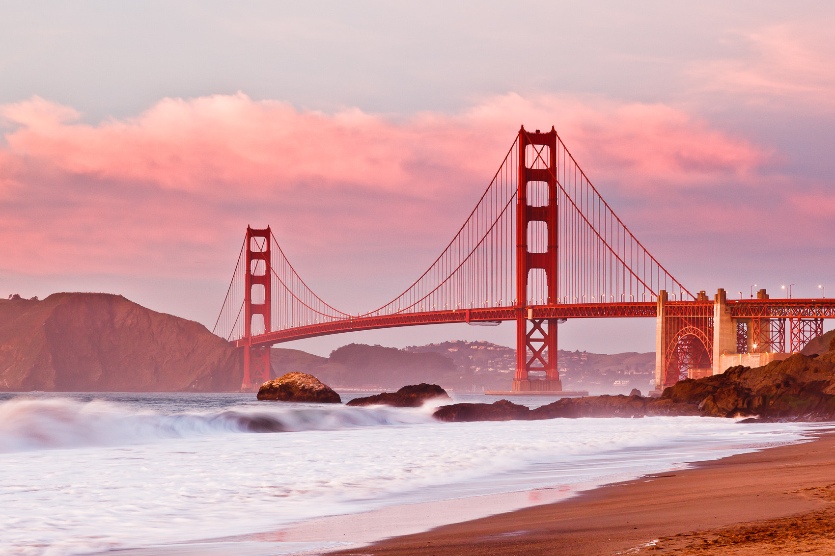 Photograph Painted Golden Gate by Mike Wiacek on 500px