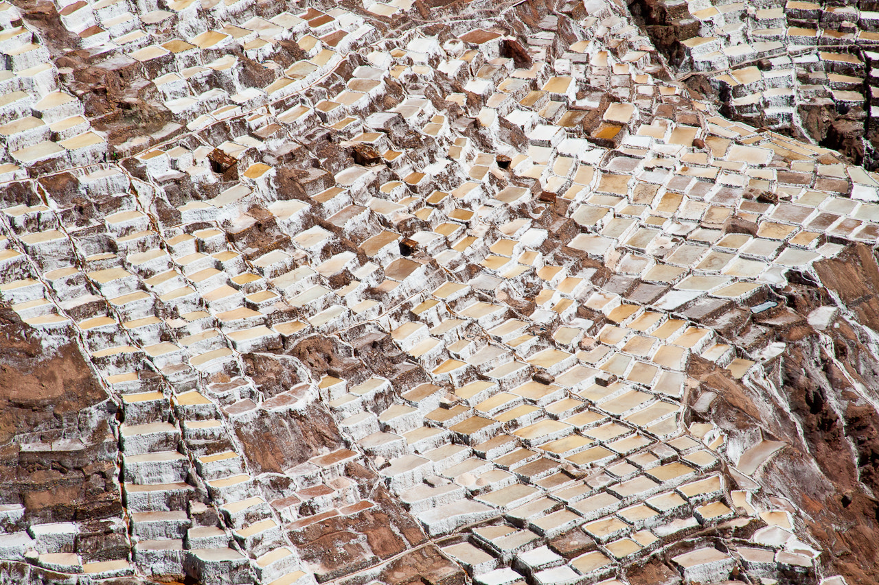 Photograph Salt works from above by Aurelien Lina on 500px