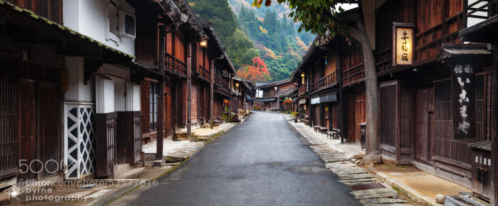 Photograph Tsumago, Kiso Valley, Japan by Simon Byrne on 500px