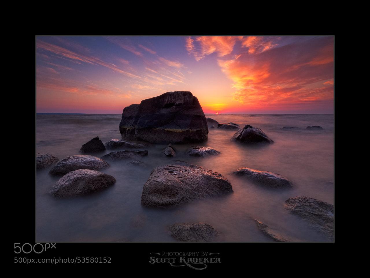 Photograph Boulder Sunset by Scott Kroeker on 500px