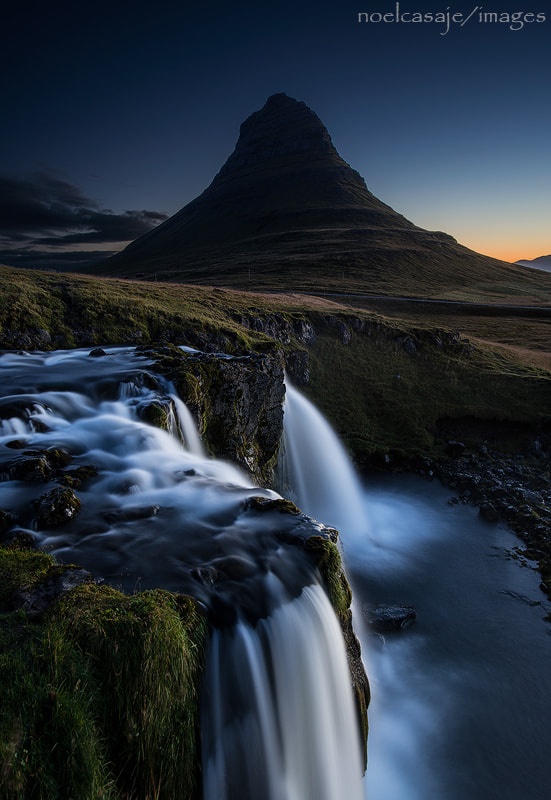 "Photograph "" THE BLUE HOUR ""Kirkjufell- Iceland by noel casaje on 500px"