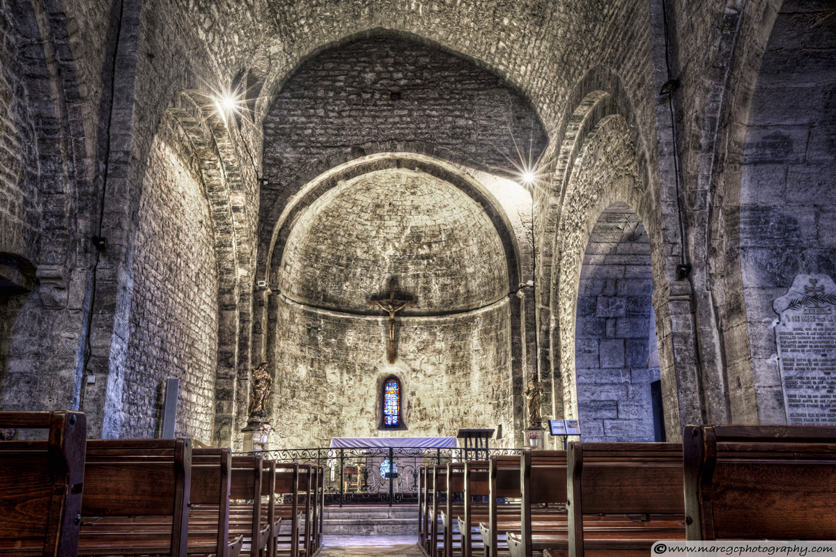 Photograph Le Castellet Medieval Church by Marc Garrido on 500px