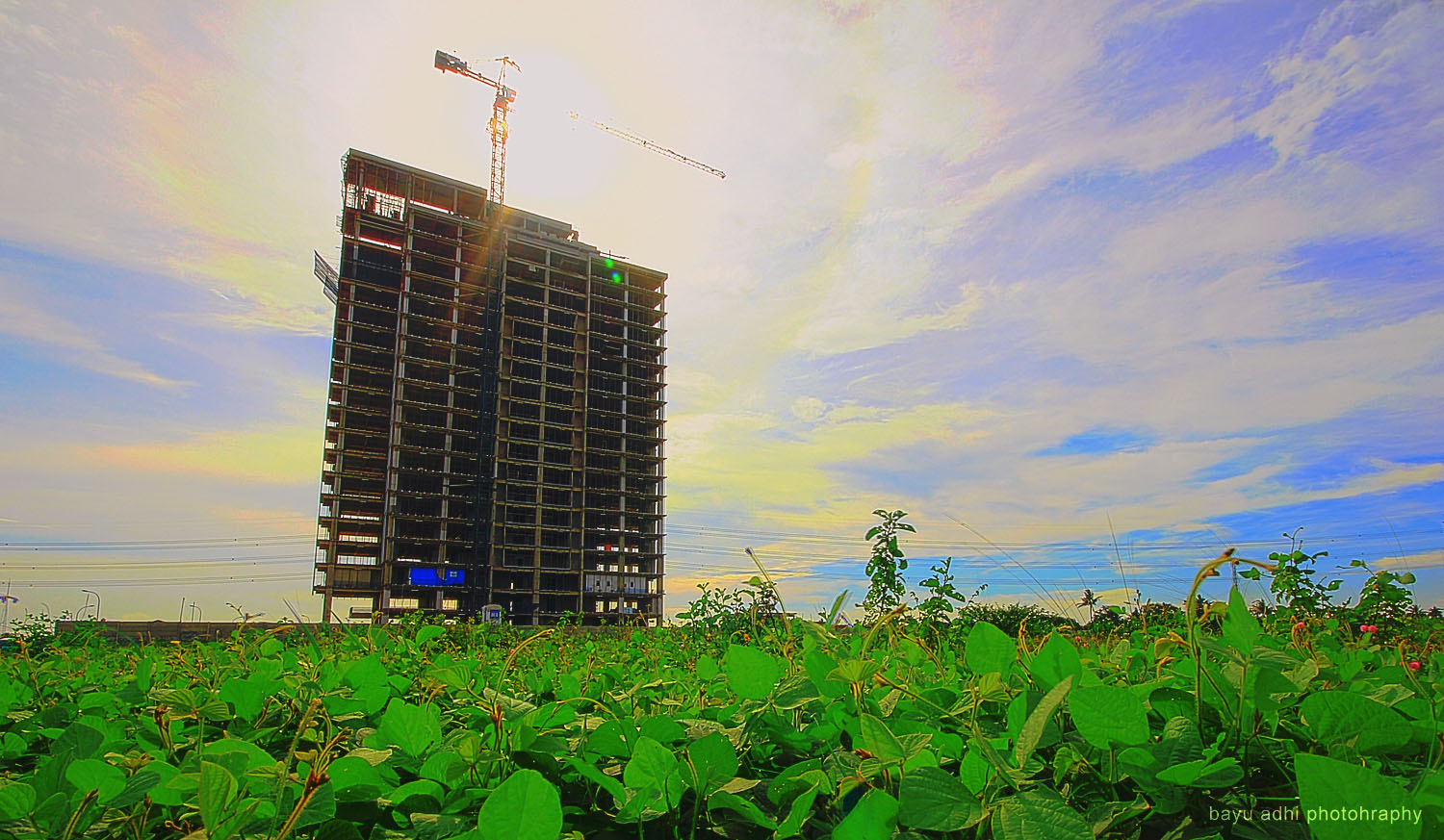 Photograph Unfinished Building by Bayu Adhi on 500px