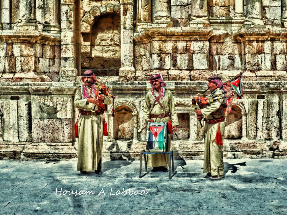 Photograph Jordanian Bagpipers by Housam A Labbad on 500px