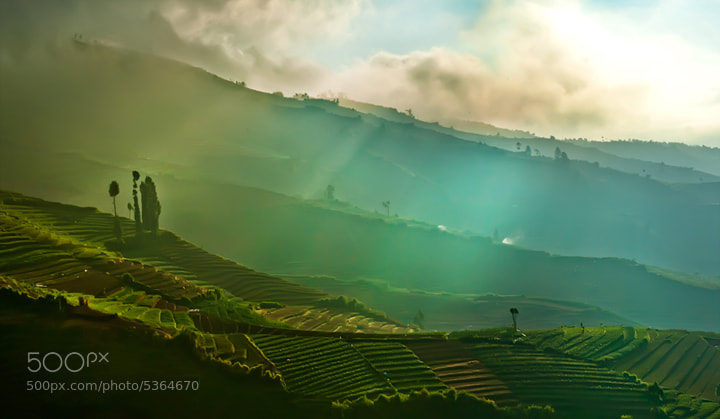 Dieng Mountain,West Java,Indonesia