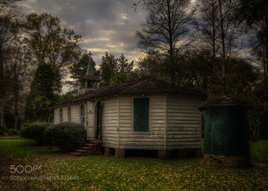 Photograph Louisiana Rural Life Museum Church by Darrell Miller on 500px