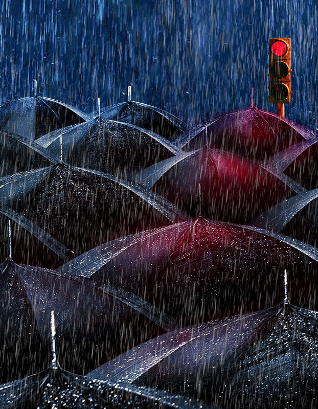 Photograph Black Umbrellas by Emin Zeynalov on 500px