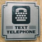 Text Telephone in California Adventures / Disneyland.