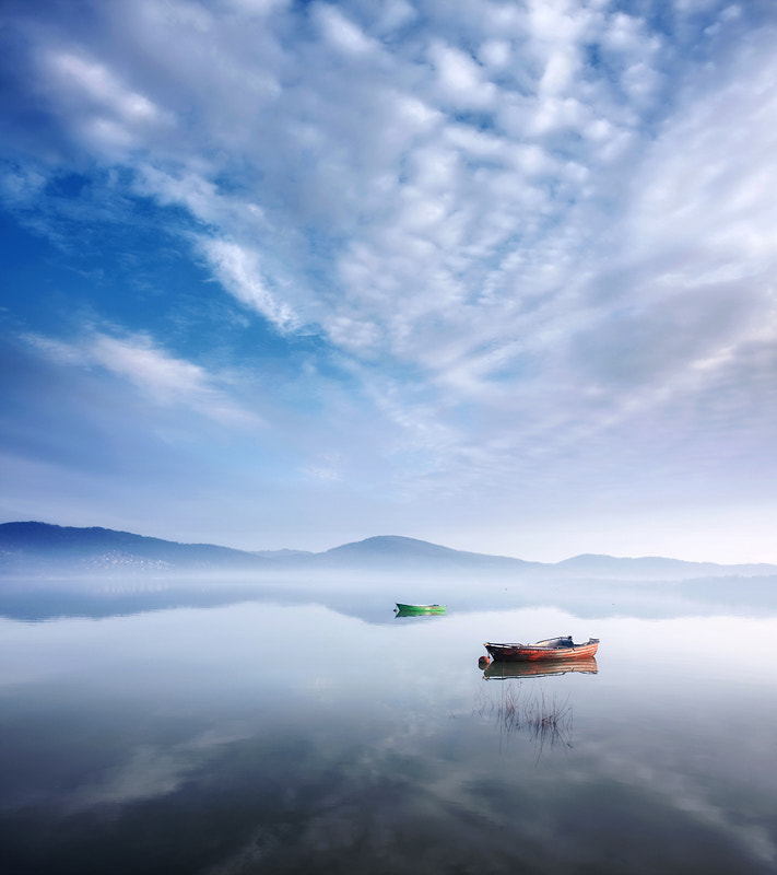 Photograph Boats by Marcin Sobas on 500px