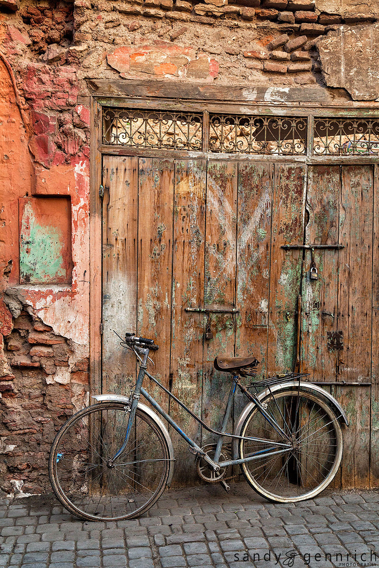 Photograph Flat Tires-Marrakech Medina-Morocco by Sandy Gennrich on 500px